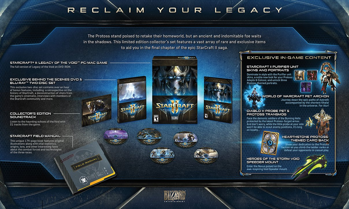 Legacy Of The Void Collectors Edition