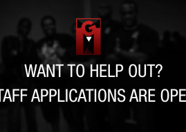Want to help out? Staff Applications are now open!